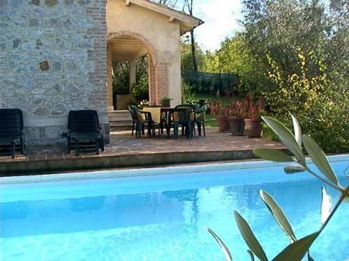 Villa fiorenzani slaapplaatsen in slaapkamers radicondoli
